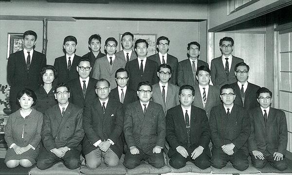 1967年12月 第三内科学講座スタート会